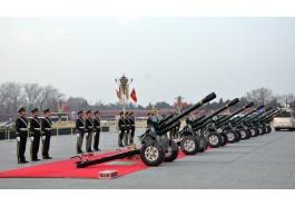 Trung Quốc bắn 21 phát đại bác chào đón Tổng Bí thư Nguyễn Phú Trọng